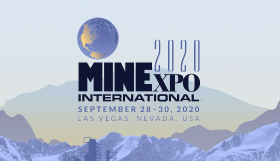 MINExpo 2020 September 28-30, 2020 in Las Vegas