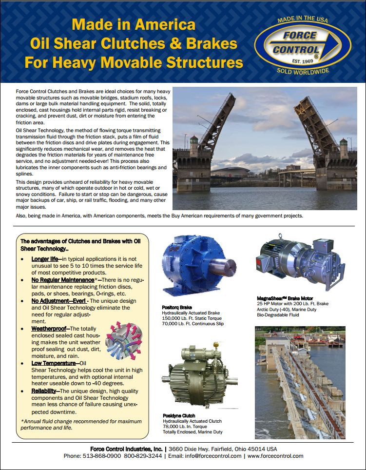 Heavy Movable Structures